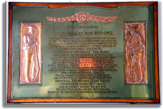 Margate Boer War Memorial